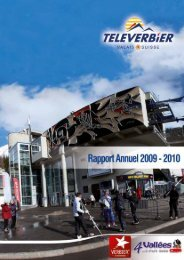 Rapport annuel 2010 - Verbier