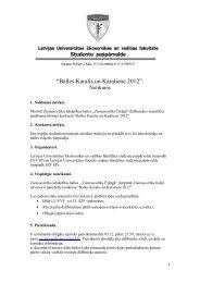 """Balles Karalis un Karaliene 2012"". - evf.lv"