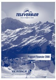 Rapport annuel 2006 (PDF - 7.29 Mo) - Verbier
