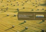 NoUvelle PResse 'Roll BaleR'. HaUte qUalité et ... - New Holland
