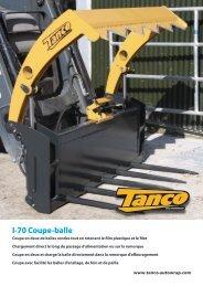 I-70 Coupe-balle - Tanco Autowrap
