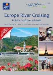 Europe River Cruising - Phil Hoffmann Travel