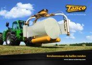 Enrubanneuse de balles rondes - Tanco Autowrap