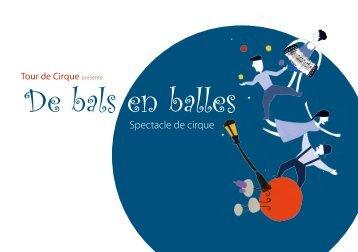 De bals en balles - Tour de Cirque