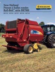 New Holland Presses à balles rondes Roll-BeltMC série BR7000