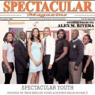 November 2008 - Spectacular Magazine