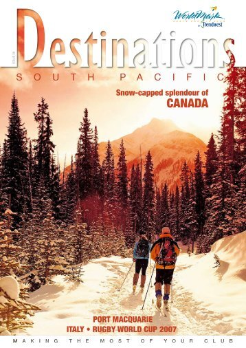 CANADA - Wyndham Vacation Resorts Asia Pacific