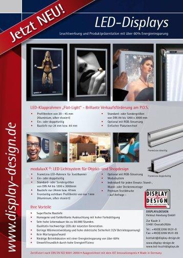 w w w .display-design.de LED-Displays - Display & Design Helmut ...