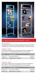 Prospektstaender - Display & Design Helmut Amelung GmbH - Page 3