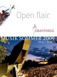 MUSIK SOMMER 2009 - grafenegg