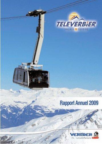 Rapport annuel 2009 - Verbier