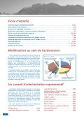 Rapport annuel 2009 - Verbier - Page 4