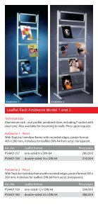 Leaflet Racks - Display & Design Helmut Amelung GmbH - Page 3
