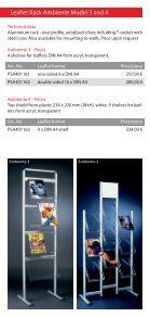 Leaflet Racks - Display & Design Helmut Amelung GmbH - Page 4