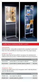 Leaflet Racks - Display & Design Helmut Amelung GmbH - Page 5
