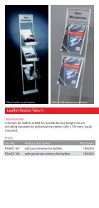 Leaflet Racks - Display & Design Helmut Amelung GmbH - Page 7