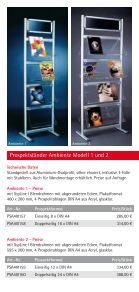 """""""Flyer Prospektstaender""""- PDF - Display & Design Helmut Amelung ... - Page 3"""