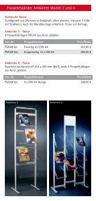 """""""Flyer Prospektstaender""""- PDF - Display & Design Helmut Amelung ... - Page 4"""