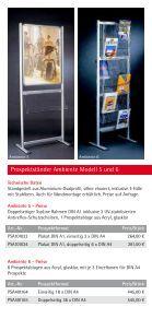 """""""Flyer Prospektstaender""""- PDF - Display & Design Helmut Amelung ... - Page 5"""