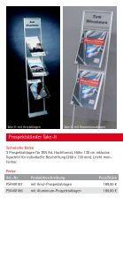 """""""Flyer Prospektstaender""""- PDF - Display & Design Helmut Amelung ... - Page 7"""
