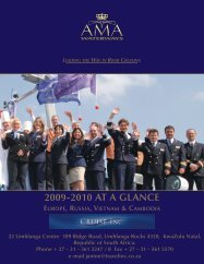 2009-2010 AT A GLANCE - Travel Inc