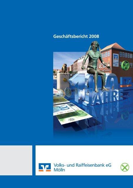 Bilanz zum 31.12.2008 Gewinn - Raiffeisenbank Südstormarn Mölln ...