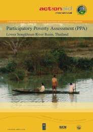 Participatory Poverty Assessment (PPA). - Mekongwetlands.org
