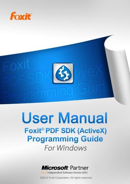 Foxit Embedded Pdf Sdk