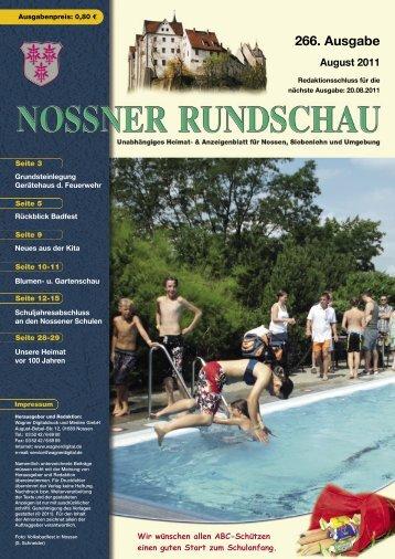 August 2011 - Nossner Rundschau