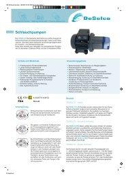 Schlauchpumpen - Ditec Dichtungstechnik GmbH