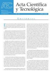 Revista Nº13 - Asociación Española de Científicos