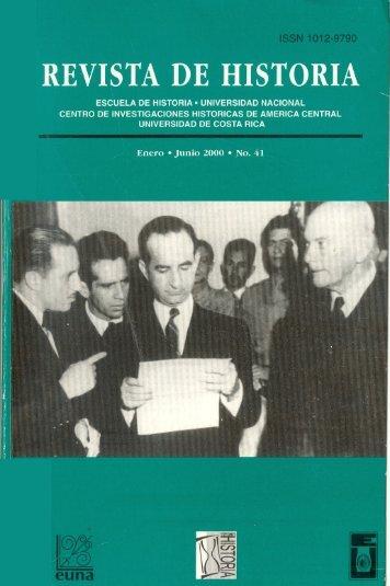 Revista de Historia - Universidad de Costa Rica