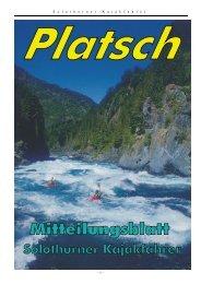 platsch 2/2004 - Solothurner Kajakfahrer