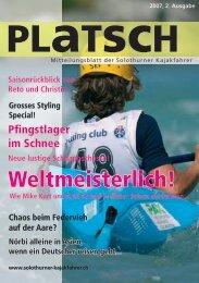 platsch 2/2007 - Solothurner Kajakfahrer