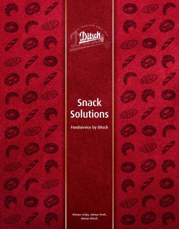 Snack Solutions - Ditsch