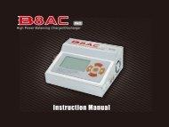 B8 AC Pro Manual - Imaxrc