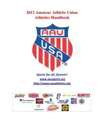The amateur athletic union aau