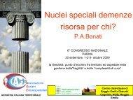 (n = 34) 41% ETA - Associazione Geriatri Extraospedalieri