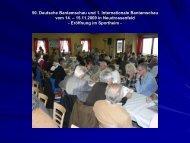50. Deutsche Bantamschau und 1. Internationale Bantamschau vom ...