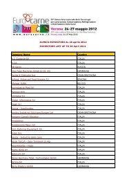 Company Name Country A.I. Guidovie Srl ITALIA A.I.A. ... - Eurocarne