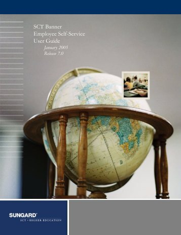 SCT Banner Employee Self-Service / User Guide / 7.0