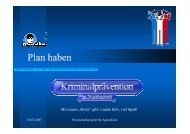 Plan Haben - Kriminalpräventive Rat Norderstedt