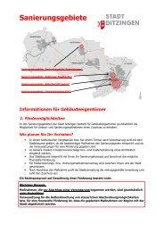Informationen für Gebäudeeigentümer zum Download ... - in Ditzingen