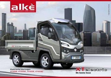 Elektrische voertuigen XT320E, XT320EL, XT420E, XT420EL - Divaco