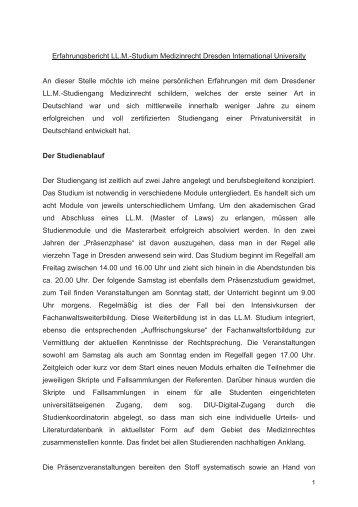 RAin Claudia Holzner aus Hamburg - Dresden International University