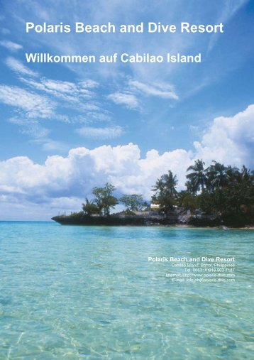 Polaris Beach and Dive Resort Willkommen auf Cabilao Island
