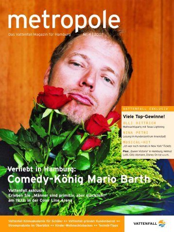 Verliebt in Hamburg: Comedy-König Mario Barth Viele Top-Gewinne!
