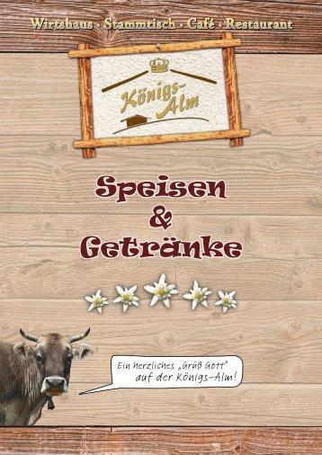 Stammtisch · Café - Königsalm