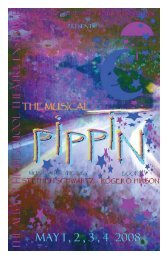 full Pippin playbill - City School District of Albany