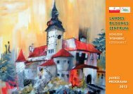 Weihnachtskrippe (6 Tage), WB 1 - Schloss Weinberg